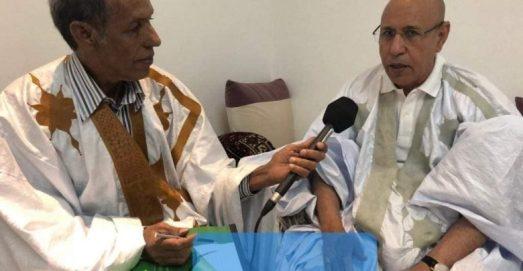 الشيخ بكاي اجرى اول لقاء صحفي مع الرئيس المنتخب قبيل اطلاق الحملة الانتخابية لرئاسيات يونيو المنصرم
