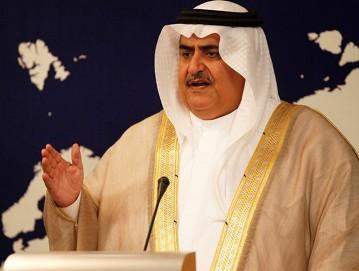 وزير الخارجية البحريني: التهديد الإيراني أخطر وأهم من القضية الفلسطينية