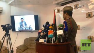 """المتحدث الرسمي باسم """"الجيش الوطني الليبي"""" اللواء أحمد المسماري"""