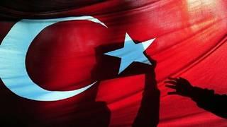 العلم التركي - أرشيف
