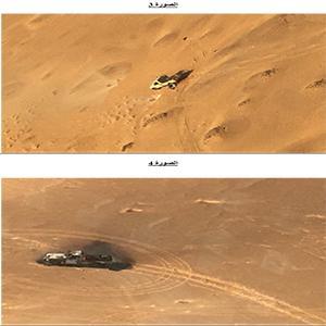صورة تخدم الخبر من استهداف الجيش لمهربين على الحدود