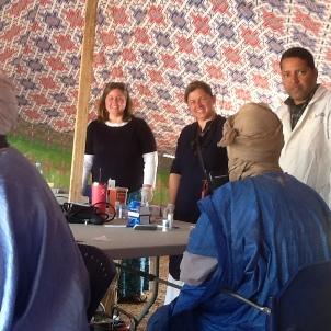 البعثة الطبية الأمريكية في مستشفى الأخوة بمدينة شنقيط