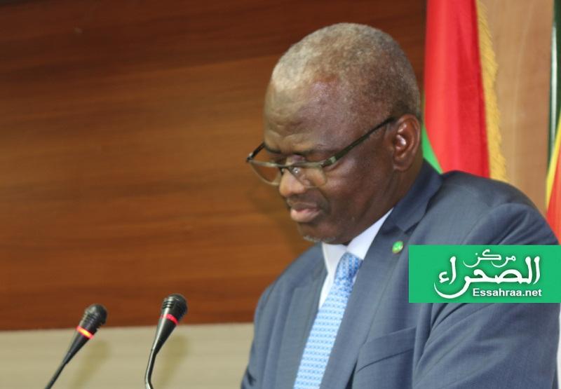 وزير التعليم العالي الناطق باسم الحكومة سيدي ولد سالم