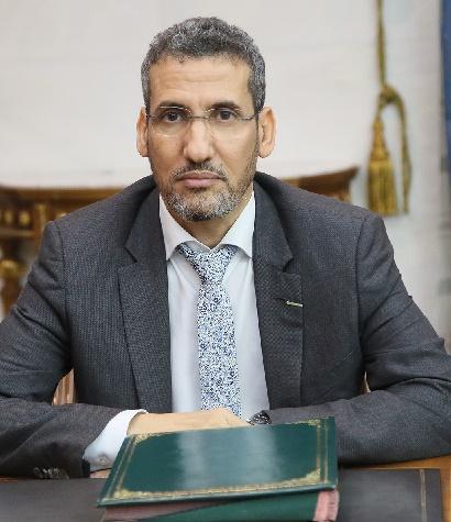 وزير المالية السيد محمد الامين ولد الذهبي