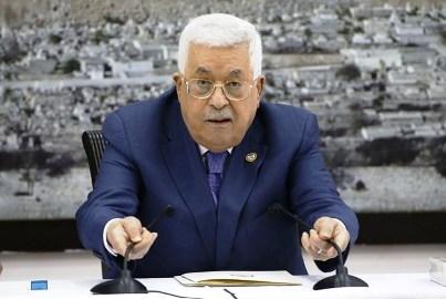 عباس: لن نستسلم لصفقة العار ولن نتساوق مع الاحتلال (أ ف ب)