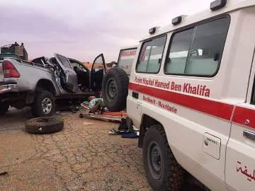 صورة الحادث كما نشرتها وسائل التواصل الاجتماعي
