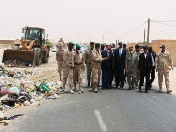 قائد أركان الجيوش وقادة عسكريون يتفقدون العملية – (المصدر: أركان الجيوش)