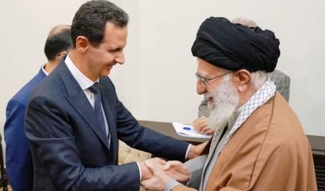 من لقاء المرشد خامنئي بالرئيس الأسد