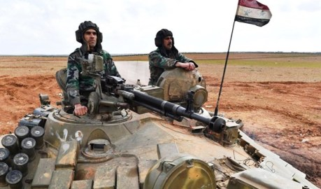 وحدات الجيش السوري دخلت منبج بريف حلب الشرقي