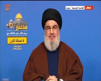 السيد نصر الله: ترامب واستخباراته يعلمون أن أي حرب على إيران ستشعل المنطقة بأكملها