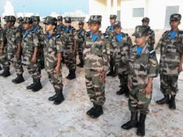 صورة ارشيفية من تلاميذ الثانوية العسكرية  بنواكشوط