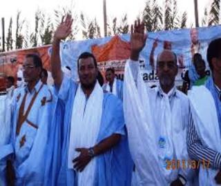 صورة من ارشيف حملة حزب الاتحاد بوادان خلال انتخابات 2011