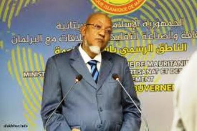 الناطق الرسمي باسم الحكومة وكالة الوزير ولد محمد خونا